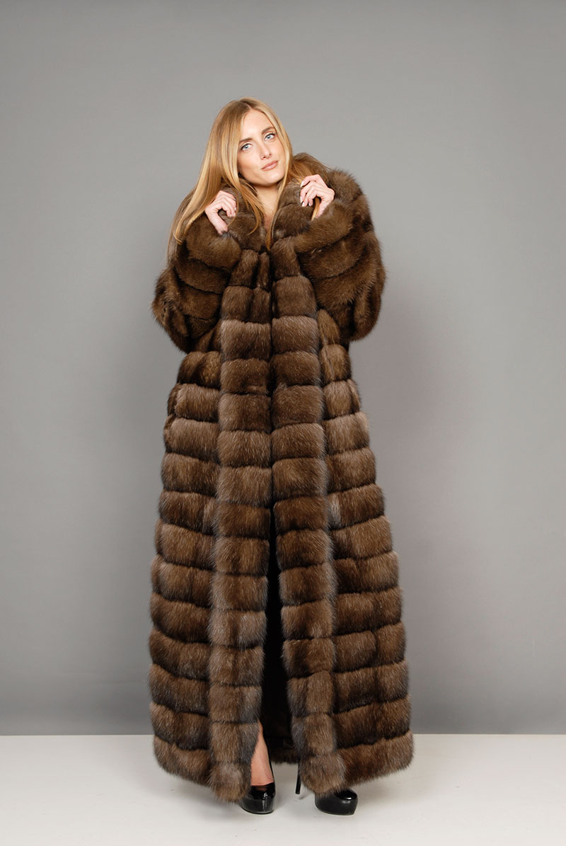 best service b6ec8 63c5c Pellicce giacche e cappotti : Pelliccia zibellino