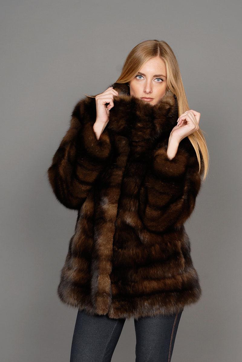 hot sale online 97f80 986fc Pellicce giacche e cappotti : Pelliccia di zibellino russo